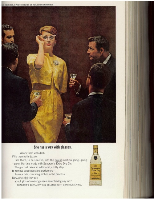 Advertisement from 1962 November Issue of the New Yorker Magazine